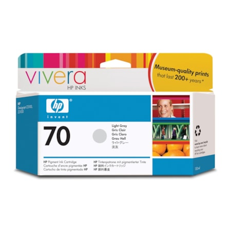 HP 70 Ink Cartridge - Light Grey