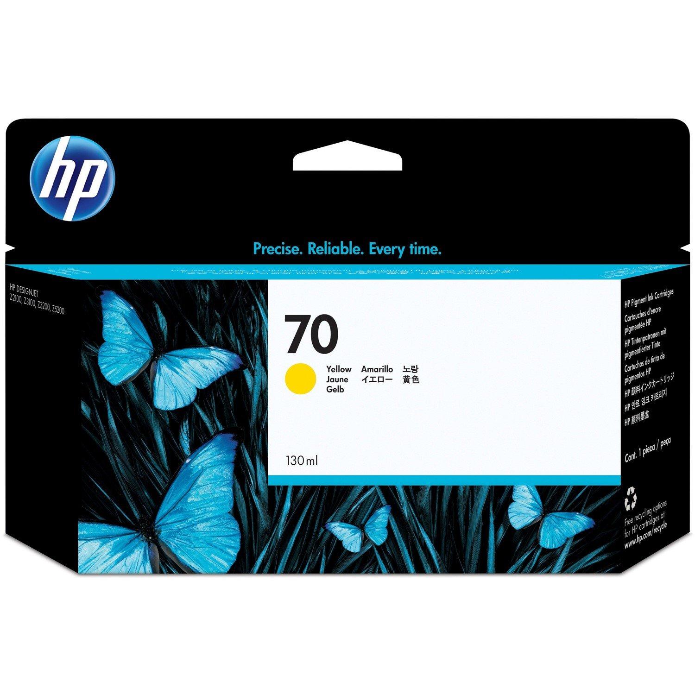 HP 70 Ink Cartridge - Yellow
