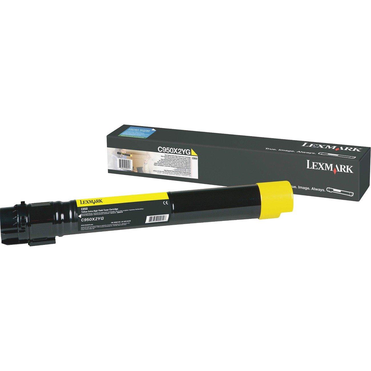 Lexmark C950X2YG Original Toner Cartridge - Yellow