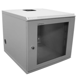StarTech.com 10U High x 482.60 mm Wide Wall Mountable Rack Cabinet for Server - Beige - TAA Compliant