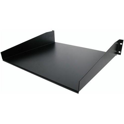 StarTech.com 2U Rack-mountable Rack Shelf - 482.60 mm Rack Width - Black - TAA Compliant