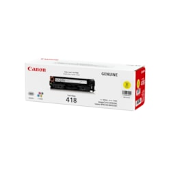 Canon CART418Y Toner Cartridge - Yellow