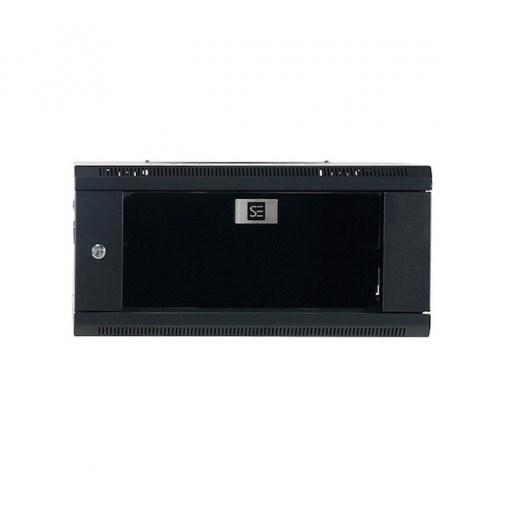 Serveredge 4U Wall Mountable Rack Cabinet for Server - Black