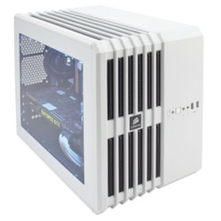 Corsair Carbide Air 240 Computer Case - Mini ITX, Micro ATX Motherboard Supported - Cube - Steel, Plastic - White - 5.60 kg