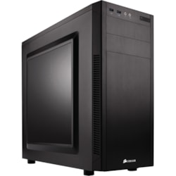 Corsair Carbide 100R Computer Case - ATX, Micro ATX, Mini ATX Motherboard Supported - Mid-tower - Steel - Black - 4.80 kg