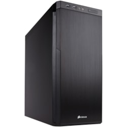 Corsair Carbide 330R Computer Case - Mini ITX, Micro ATX, ATX, EATX Motherboard Supported - Mid-tower - Steel, Anodized Aluminium - Black - 6.80 kg