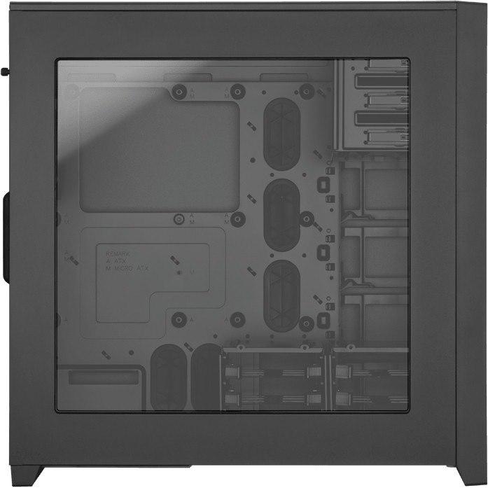 Corsair Obsidian 750D Computer Case - Micro ATX, Mini ITX, ATX, EATX, XL-ATX Motherboard Supported - Full-tower - Aluminium - Black - 9.70 kg
