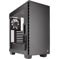 Corsair Carbide Clear 400C Computer Case - ATX, Micro ATX, Mini ITX, EATX Motherboard Supported - Mid-tower - Steel - Clear - 8.20 kg