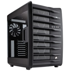 Corsair Carbide 740 Computer Case - ATX, Micro ATX, Mini ITX Motherboard Supported - Mid-tower - Steel - Black - 8.82 kg