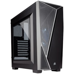 Corsair Carbide SPEC-04 Computer Case - ATX, Micro ATX, Mini ITX Motherboard Supported - Mid-tower - Steel - Black, Grey - 4.20 kg