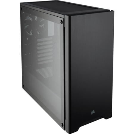Corsair Carbide 275R Gaming Computer Case - ATX, Micro ATX, Mini ITX Motherboard Supported - Mid-tower - Steel, Plastic, Acrylic - Black - 8.56 kg