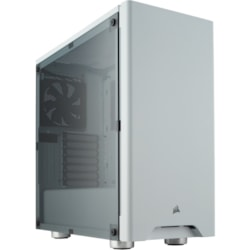 Corsair Carbide 275R Computer Case - ATX, Micro ATX, Mini ITX Motherboard Supported - Mid-tower - Steel, Plastic, Acrylic - White - 8.56 kg