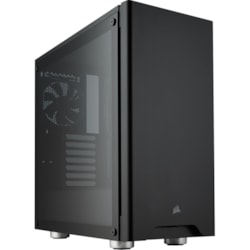 Corsair Carbide 275R Computer Case - ATX, Micro ATX, Mini ITX Motherboard Supported - Mid-tower - Steel, Plastic, Tempered Glass - Black - 8.56 kg