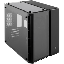 Corsair Crystal 280X Computer Case - Micro ATX Motherboard Supported - Tempered Glass - Black