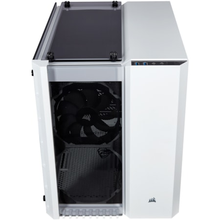 Corsair Crystal 280X Computer Case - Micro ATX Motherboard Supported - Tempered Glass - White