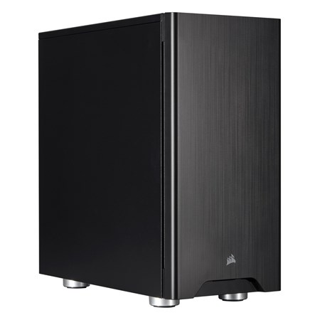 Corsair Carbide 275Q Gaming Computer Case - Mini ITX, Micro ATX, ATX Motherboard Supported - Mid-tower - Steel - Black - 6.08 kg