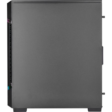 Corsair iCUE 220T RGB Computer Case - Mini ITX, Micro ATX, ATX Motherboard Supported - Mid-tower - Steel, Tempered Glass - Black - 6.50 kg
