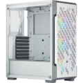 Corsair iCUE 220T RGB Computer Case - Mini ITX, ATX, Micro ATX Motherboard Supported - Mid-tower - Steel, Tempered Glass - White - 6.50 kg
