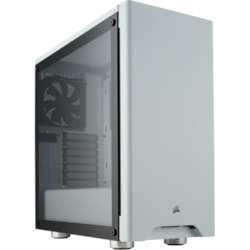 Corsair 275R Airflow Gaming Computer Case - ATX, Micro ATX, Mini ITX Motherboard Supported - Mid-tower - Steel, Tempered Glass - White - 6.90 kg