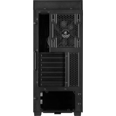 Corsair 110Q Computer Case - Mini ITX, Micro ATX, ATX Motherboard Supported - Mid-tower - Steel, Plastic - Black - 6 kg