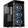 Corsair iCUE 465X RGB Computer Case - Mini ITX, Micro ATX, ATX Motherboard Supported - Mid-tower - Steel, Tempered Glass - Black - 8 kg