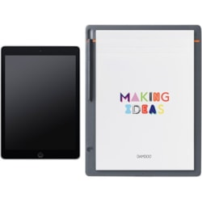 Wacom Bamboo Slate CDS810S Wireless - Digital Notepad - Orange, Medium Grey