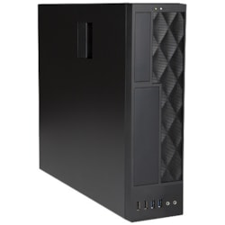 In Win CE052 Computer Case - Micro ATX, Mini ITX Motherboard Supported - Small - Black