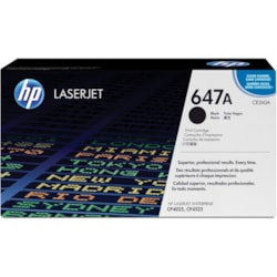 HP 647A Original Toner Cartridge - Black