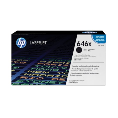 HP 646X Original Toner Cartridge - Black