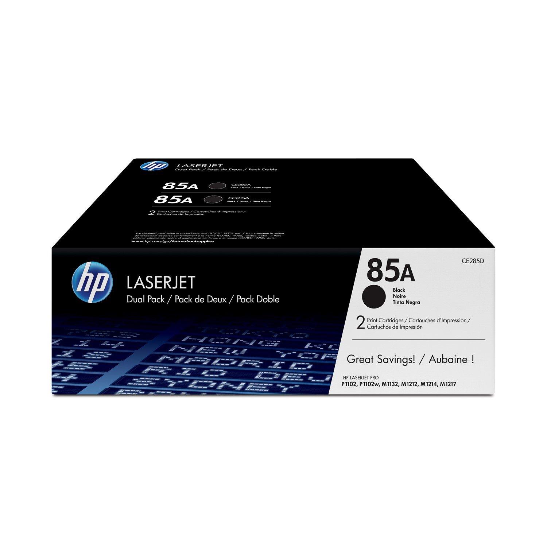 HP 85A BLK DUAL PACK LJ TONER CARTRIDGE
