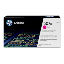 HP 507A Original Toner Cartridge - Magenta