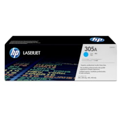 HP 305A Original Toner Cartridge - Cyan