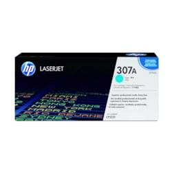 HP 307A Toner Cartridge - Cyan