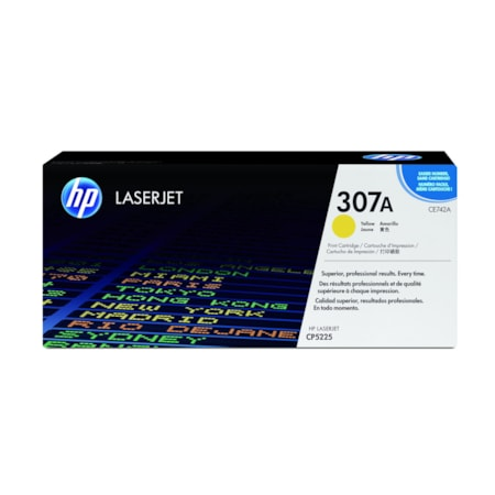 HP 307A Original Toner Cartridge - Yellow
