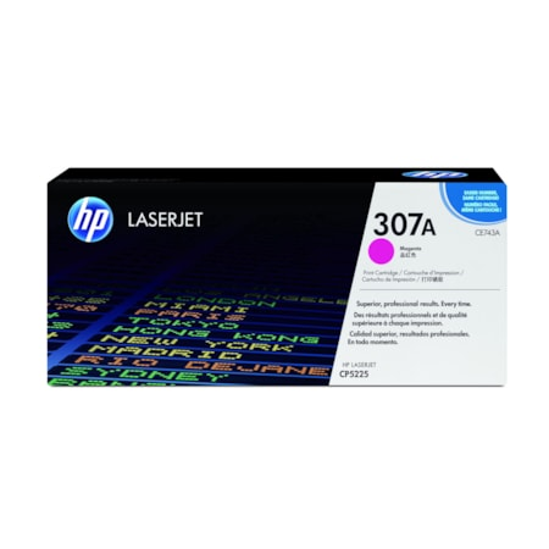 HP 307A Toner Cartridge - Magenta