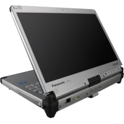 "Panasonic Toughbook C2 CF-C2CHCCXBA 31.8 cm (12.5"") LCD 2 in 1 Notebook - Intel Core i5 (4th Gen) i5-4300U Dual-core (2 Core) 1.90 GHz - 4 GB DDR3L SDRAM - 500 GB HDD - Windows 8 32-bit - 1366 x 768 - In-plane Switching (IPS) Technology - Convertible - Silver"