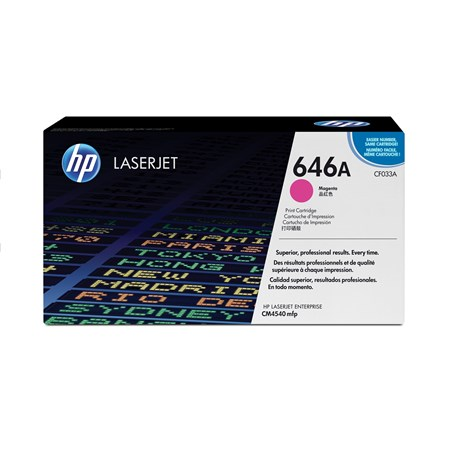 HP 646A Original Toner Cartridge - Magenta