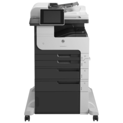 HP LaserJet 700 M725F Laser Multifunction Printer - Monochrome - Plain Paper Print - Floor Standing