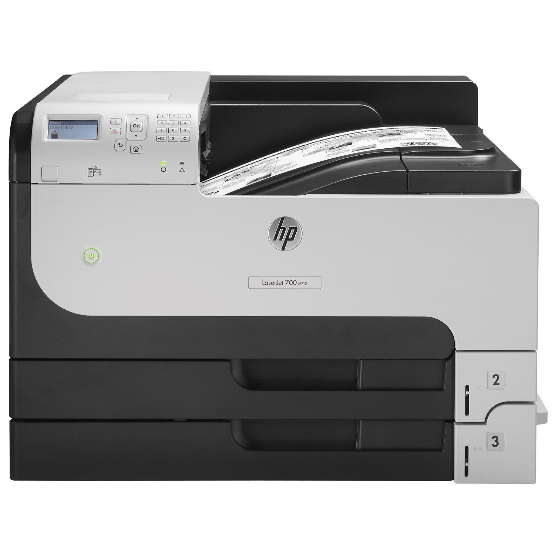 HP LaserJet 700 M712N Laser Printer - Monochrome