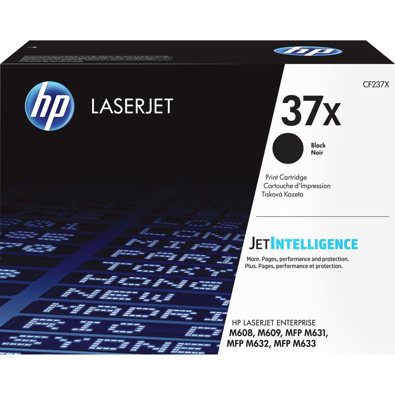 HP 37X Toner Cartridge - Black