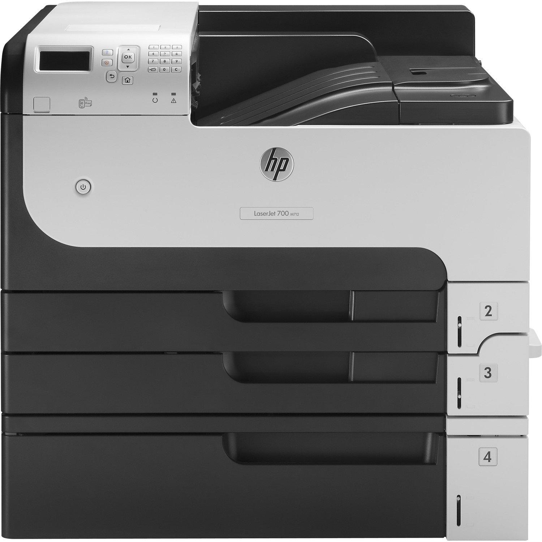 HP LaserJet M712XH Laser Printer - Monochrome - 1200 dpi Print - Plain Paper Print - Desktop