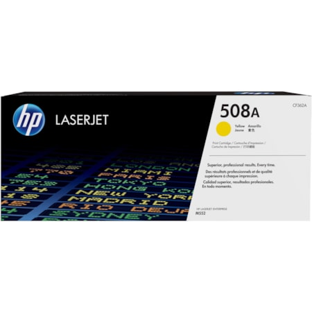 HP 508A Original Toner Cartridge - Yellow
