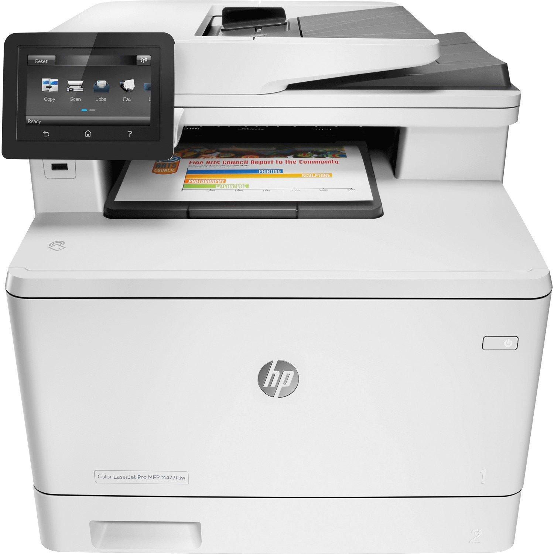HP LaserJet Pro M477fdw Laser Multifunction Printer