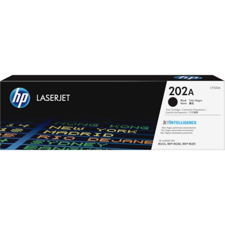 HP 202A Original Toner Cartridge - Black