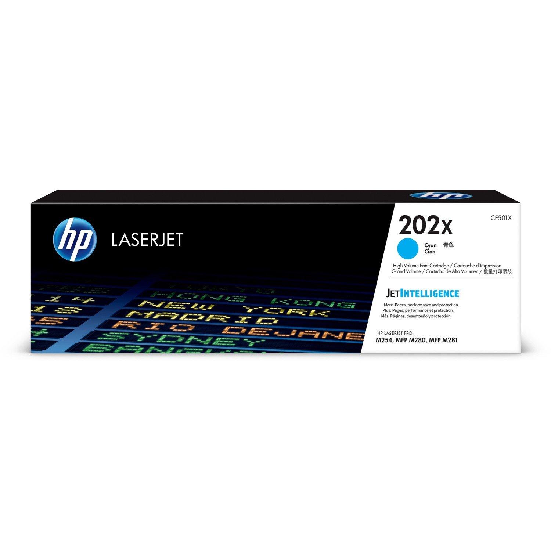 HP 202X Toner Cartridge - Cyan