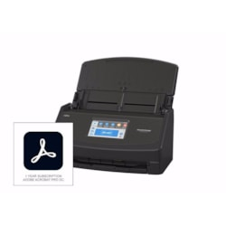 Fujitsu ScanSnap iX1500 Deluxe Scanner with Adobe Acrobat Pro DC (Black)