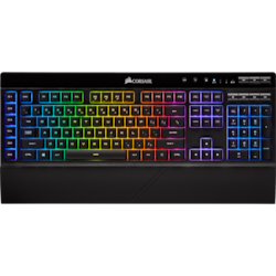 Corsair K57 Gaming Keypad - Wired/Wireless Connectivity - USB 3.0 Type A Interface - English (North America) - Black