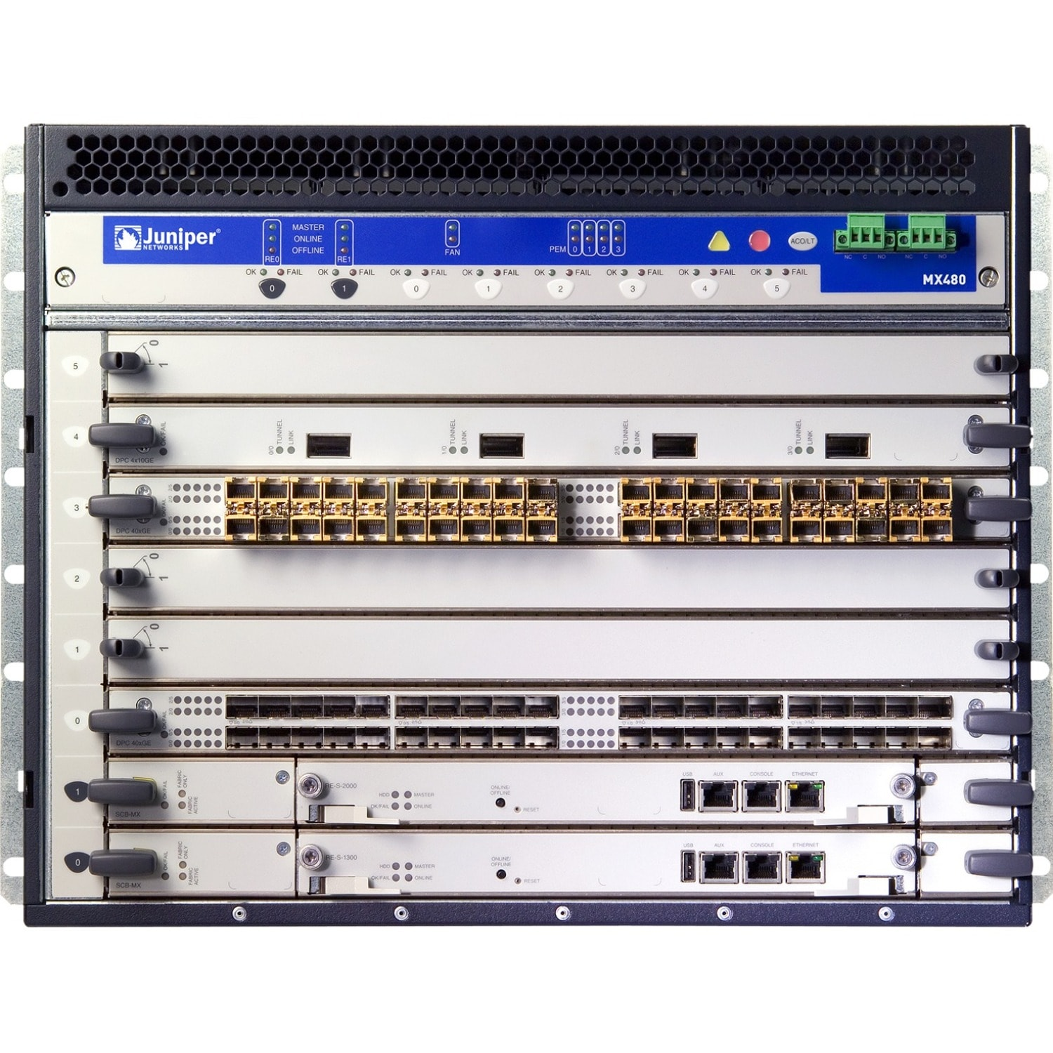 Buy Juniper MX480 Router Chassis | DWM Solutions