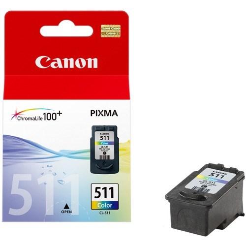 Canon CL-511 Ink Cartridge - Cyan, Magenta, Yellow