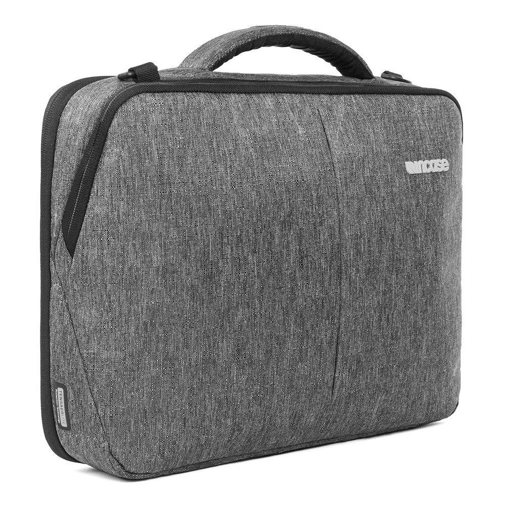 "Incase Reform Carrying Case (Briefcase) for 38.1 cm (15"") MacBook - Black Heather"